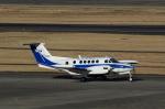 T.Sazenさんが、名古屋飛行場で撮影したダイヤモンド・エア・サービス 200T Super King Airの航空フォト(飛行機 写真・画像)