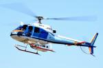 tsubasa0624さんが、東京ヘリポートで撮影した中日本航空 AS350B Ecureuilの航空フォト(飛行機 写真・画像)