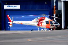 tsubasa0624さんが、東京ヘリポートで撮影した朝日航洋 AS355F2 Ecureuil 2の航空フォト(写真)