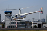 tsubasa0624さんが、東京ヘリポートで撮影したディーエイチシー R44の航空フォト(写真)