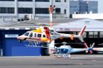 tsubasa0624さんが、東京ヘリポートで撮影した朝日航洋 430の航空フォト(飛行機 写真・画像)