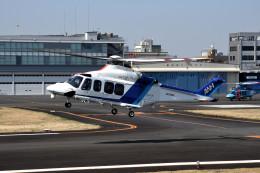 tsubasa0624さんが、東京ヘリポートで撮影したオールニッポンヘリコプター AW139の航空フォト(飛行機 写真・画像)