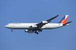 mogusaenさんが、羽田空港で撮影したフィリピン航空 A340-313Xの航空フォト(飛行機 写真・画像)