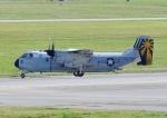じーく。さんが、嘉手納飛行場で撮影したアメリカ海軍 C-2A Greyhoundの航空フォト(飛行機 写真・画像)