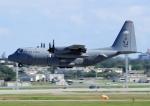 じーく。さんが、嘉手納飛行場で撮影したアメリカ空軍 C-130H Herculesの航空フォト(飛行機 写真・画像)
