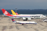 なごやんさんが、中部国際空港で撮影したカーゴルクス・イタリア 747-4R7F/SCDの航空フォト(写真)