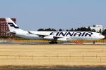 HND Spotter Rei U.さんが、成田国際空港で撮影したフィンエアー A340-313Xの航空フォト(写真)