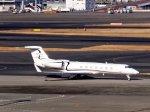 あしゅーさんが、羽田空港で撮影したジェット・アビエーション・ビジネス・ジェット G-V-SP Gulfstream G550の航空フォト(飛行機 写真・画像)