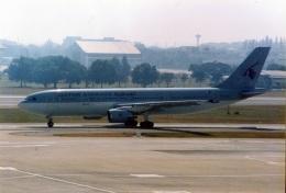 amagoさんが、ドンムアン空港で撮影したカタール航空 A300B4-622Rの航空フォト(飛行機 写真・画像)