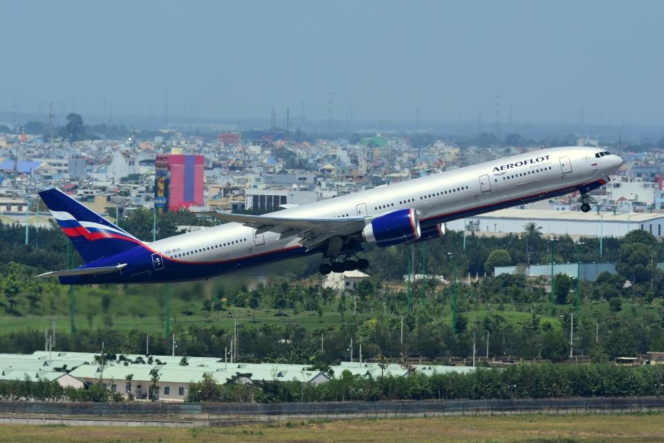 RUSSIANSKIさんのアエロフロート・ロシア航空 Boeing 777-300 (VQ-BUA) 航空フォト