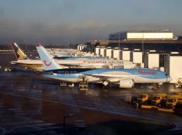 ▲®さんが、マンチェスター空港で撮影したトムソン航空 787-8 Dreamlinerの航空フォト(飛行機 写真・画像)