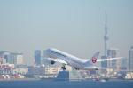 カヤノユウイチさんが、羽田空港で撮影した日本航空 787-8 Dreamlinerの航空フォト(飛行機 写真・画像)