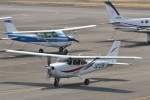 岡南飛行場 - Kounan Airport [OKS/RJBK]で撮影された岡山航空 - Okayama Air Serviceの航空機写真