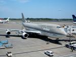tsubasa0624さんが、成田国際空港で撮影したアシアナ航空 747-48EMの航空フォト(飛行機 写真・画像)