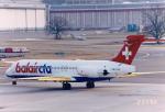 JA8037さんが、チューリッヒ空港で撮影したバルエア-CTAレジャー MD-87 (DC-9-87)の航空フォト(飛行機 写真・画像)