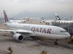 Mame @ TYOさんが、香港国際空港で撮影したカタール航空 A330-202の航空フォト(写真)