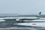 パンダさんが、新千歳空港で撮影したエバー航空 777-35E/ERの航空フォト(写真)