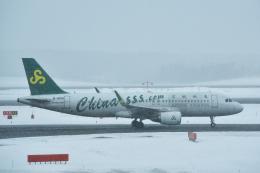 パンダさんが、新千歳空港で撮影した春秋航空 A320-214の航空フォト(写真)
