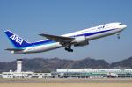 サボリーマンさんが、松山空港で撮影した全日空 767-381の航空フォト(写真)
