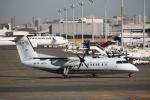 T.Sazenさんが、羽田空港で撮影した国土交通省 航空局 DHC-8-315Q Dash 8の航空フォト(写真)