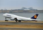 Cygnus00さんが、羽田空港で撮影したルフトハンザドイツ航空 747-830の航空フォト(写真)