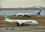 Cygnus00さんが、羽田空港で撮影したAIR DO 767-381の航空フォト(写真)
