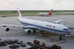 kinsanさんが、上海浦東国際空港で撮影した中国国際航空 A340-313Xの航空フォト(写真)