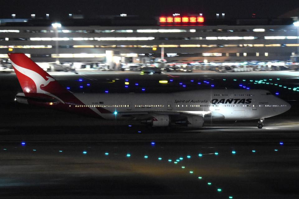 tsubasa0624さんのカンタス航空 Boeing 747-400 (VH-OEB) 航空フォト