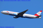 Chofu Spotter Ariaさんが、成田国際空港で撮影したオーストリア航空 777-2Z9/ERの航空フォト(飛行機 写真・画像)