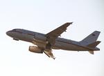 yuuka no kazeさんが、関西国際空港で撮影したドイツ空軍 A319-133X CJの航空フォト(飛行機 写真・画像)