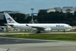 RUSSIANSKIさんが、シンガポール・チャンギ国際空港で撮影したバルカンホリデイズ A330-223の航空フォト(飛行機 写真・画像)
