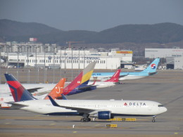 sarangさんが、仁川国際空港で撮影したデルタ航空 767-332/ERの航空フォト(写真)