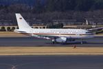 FlySwimmerさんが、成田国際空港で撮影したドイツ空軍 A319-133X CJの航空フォト(飛行機 写真・画像)