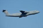 うめやしきさんが、横田基地で撮影したアメリカ空軍 C-5A Galaxyの航空フォト(写真)