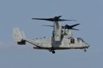 じゃまちゃんさんが、横田基地で撮影したアメリカ海兵隊 MV-22Bの航空フォト(写真)