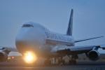 おみずさんが、北九州空港で撮影したシンガポール航空カーゴ 747-412F/SCDの航空フォト(写真)
