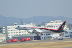 ja0hleさんが、名古屋飛行場で撮影した三菱航空機 MRJ90STDの航空フォト(写真)