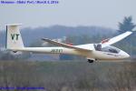 Chofu Spotter Ariaさんが、妻沼滑空場で撮影した東北大学学友会航空部 - Tohoku University Aviation Club LS4-bの航空フォト(飛行機 写真・画像)