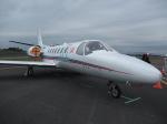 mojioさんが、静岡空港で撮影した朝日新聞社 560 Citation Encoreの航空フォト(飛行機 写真・画像)
