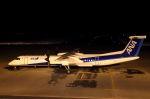 夏奈さんが、中標津空港で撮影したANAウイングス DHC-8-402Q Dash 8の航空フォト(写真)