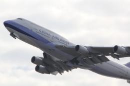 yosuke72さんが、関西国際空港で撮影したチャイナエアライン 747-409の航空フォト(飛行機 写真・画像)