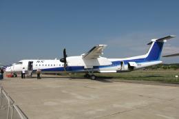 なごやんさんが、ジュコーフスキー空港で撮影したノルディック・アビエーション・キャピタル DHC-8-402Q Dash 8の航空フォト(飛行機 写真・画像)