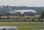 gunmano_kumasanさんが、ミュンヘン・フランツヨーゼフシュトラウス空港で撮影した全日空 787-8 Dreamlinerの航空フォト(飛行機 写真・画像)