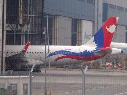 Mame @ TYOさんが、香港国際空港で撮影したネパール航空 A320-233の航空フォト(飛行機 写真・画像)