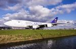 B.K JEONGさんが、アムステルダム・スキポール国際空港で撮影したサウディア 747-4F6(BDSF)の航空フォト(写真)