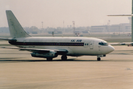 JA8037さんが、ドンムアン空港で撮影したシアム・カンプチア・エア 737-2P5/Advの航空フォト(飛行機 写真・画像)