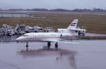 kumagorouさんが、福島空港で撮影したドバイ・ロイヤル・エア・ウィング Falcon 900の航空フォト(飛行機 写真・画像)