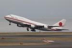 surf511ykさんが、羽田空港で撮影した航空自衛隊 747-47Cの航空フォト(写真)
