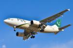 パンダさんが、成田国際空港で撮影したパキスタン国際航空 A310-308の航空フォト(飛行機 写真・画像)