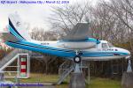 Chofu Spotter Ariaさんが、航空博物館 - Museum of Aeronautical Sciences (Shibayama-machi, Japan)で撮影したアジア航測 680E Commanderの航空フォト(飛行機 写真・画像)